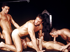 The sex-driven quartet works itself fall in love with an erotic frenzy!! daddy gay porn
