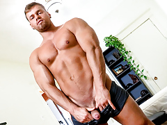 Brad, Bigger He Cums, Scene 01 daddy gay porn
