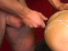 Gay guy submits to his master in leather who wanna fucks!