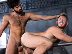 Navy seamen Tegan Zayne and Spencer Whitman are on the job in the boiler room, making certain everything is ship-shape. When Spencer's navy blues start slipping off his ass, Tegan sees an opportunity to get better acquainted. As Spencer's pants fall, his daddy gay porn