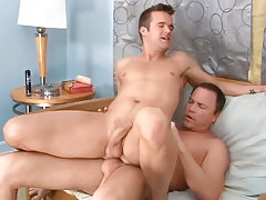 Real life BFs Connor & Jason show their lovemaking on-screen daddy gay porn