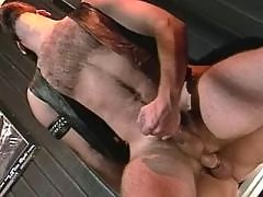 Student jerking off his meaty dick