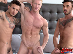 Johnny, Seth & Cris daddy gay porn