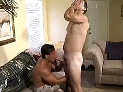 Kinky dudes in fuck and blow orgy