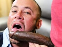 Marxel is horned up and he has no other means to satisfy himself except to call in for an escort. He tells the operator that he wants the man with the daddy gay porn