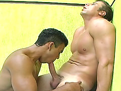 Andre and Poax daddy gay porn