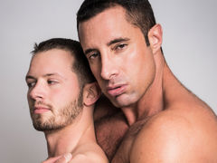 Nervous married chap Asher Devon meets up with gay Internet crush Nick Capra to experiment with chap on chap sex. Watch as experienced Daddy Nick explores every inch of the young Asher's body and fucks him hard until both shoot their mega loads. daddy gay porn