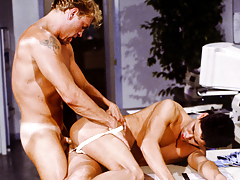 Ryan Demonstrating His Aim To Please His Boss Jesse Skyler daddy gay porn