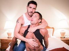 Nick Capra invites Tony Salerno up to his cabin to make their rencounter more private. Tony feels bad about keeping this a clandestine from his wife. Coming to agreement to keep their encounter between them, Tony starts to wonder if Nick is only doing thi daddy gay porn