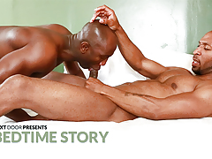 Bedtime Story daddy gay porn